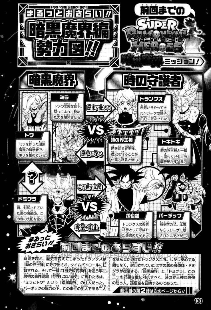 Super Dragon Ball Heroes - chapitre 2 couverture