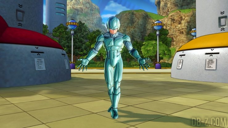 Costume Metal Cooler Xenoverse 2