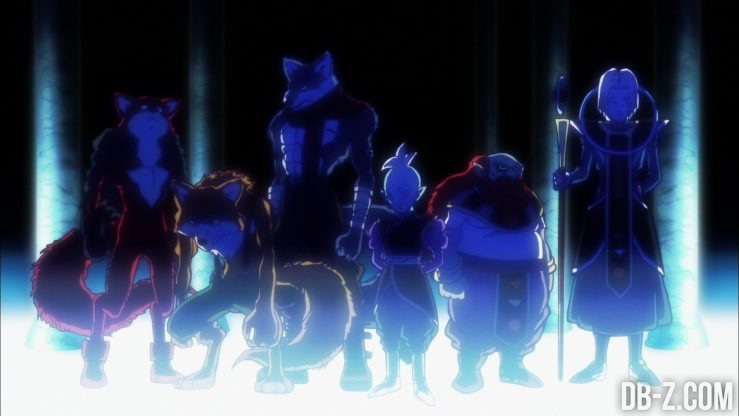 Dragon Ball Super - Team Univers 9