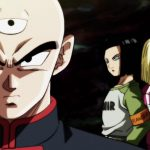 Dragon Ball Super Survie Univers C-17 C-18 Tenshinhan