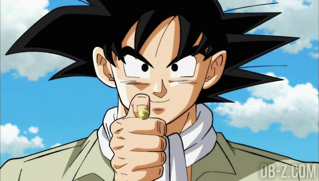 Dragon Ball Super Survie Univers Goku balle