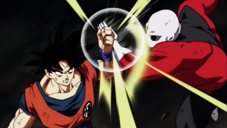 Dragon Ball Super Survie Univers Goku vs Inconnu