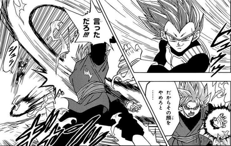Goku Black VS Vegeta Super Saiyan God
