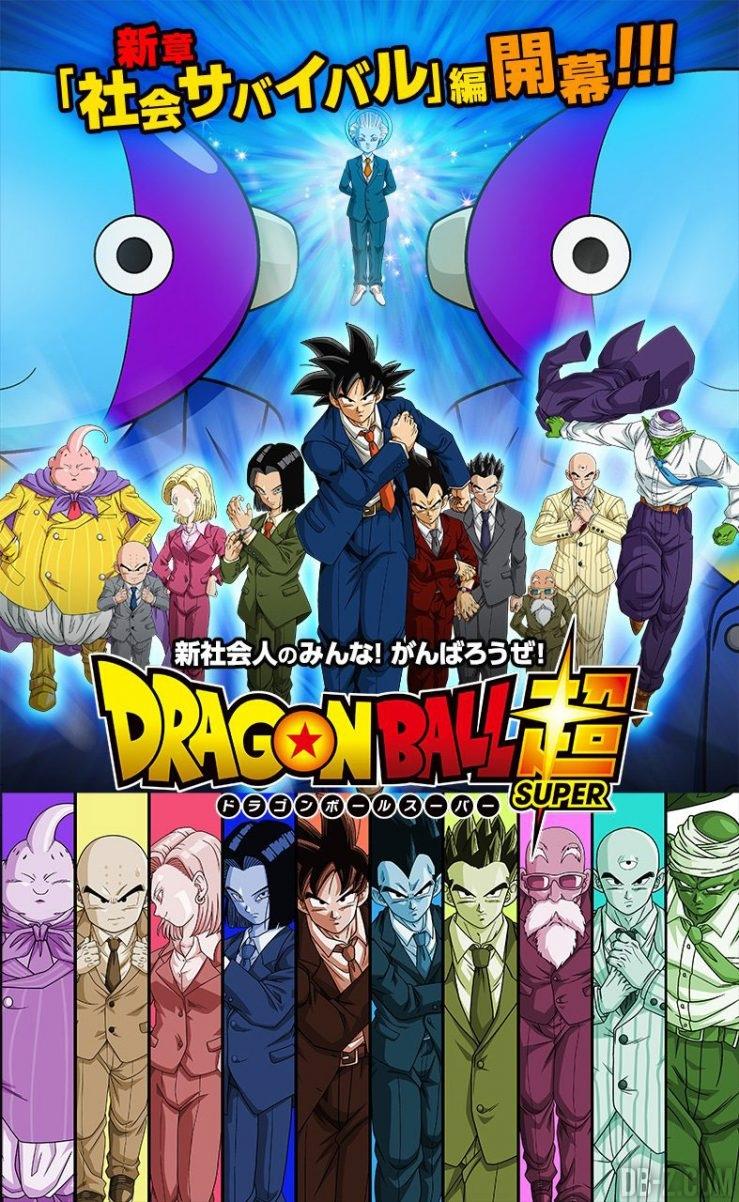 Dragon Ball Super Survie Sociale - Affiche