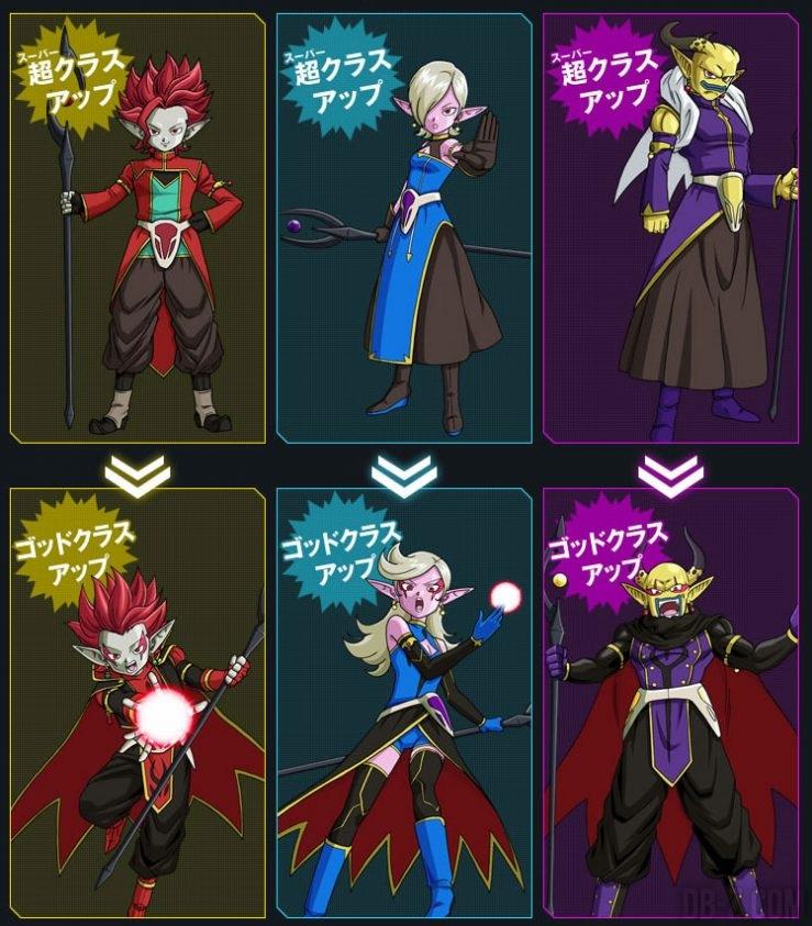 Evolution des Avatars Démons Maléfiques