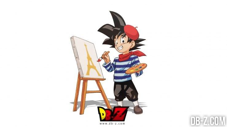 Goku Français par Toyotaro
