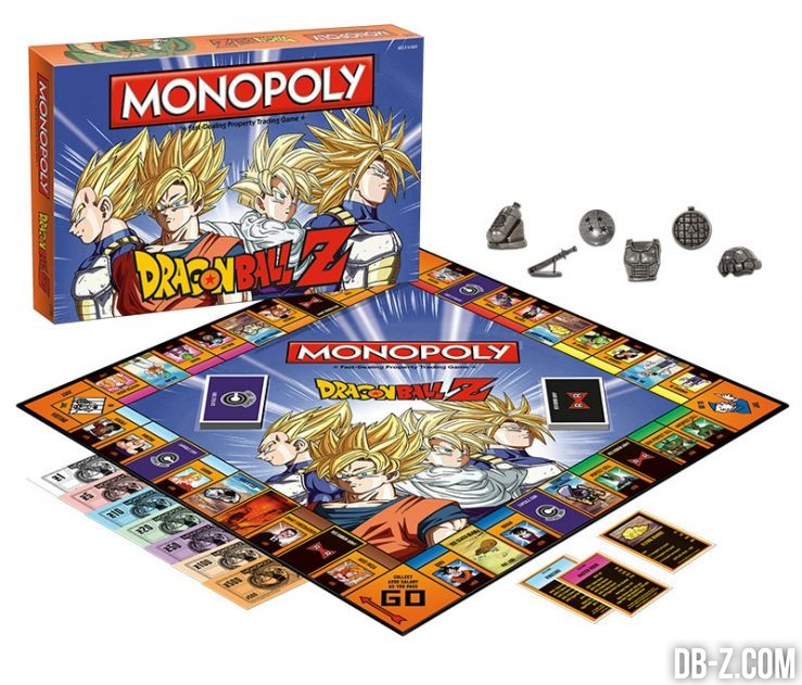 Monopoly Dragon Ball Z : Set complet