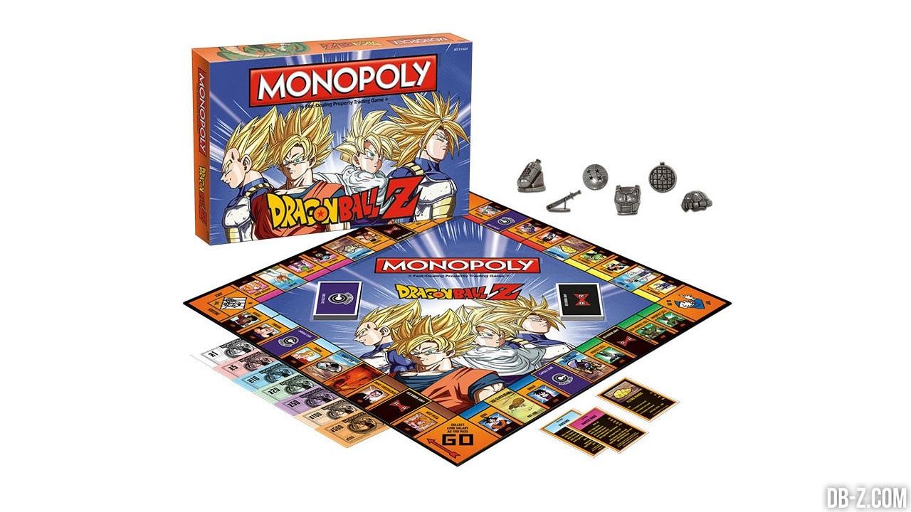 Le monopoly dragon ball z bient t en vente for Cuartos decorados de dragon ball z