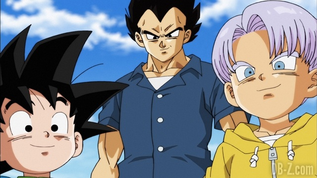 Dragon Ball Super Episode 88 - Vegeta Trunks Goten