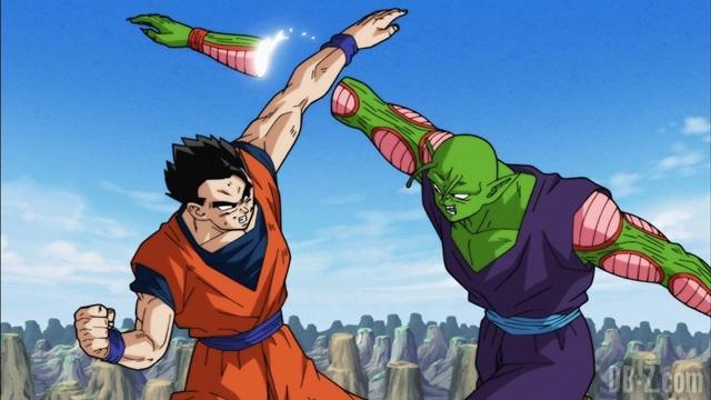 Dragon Ball Super Episode 88 - Son Gohan coupe le bras de Piccolo
