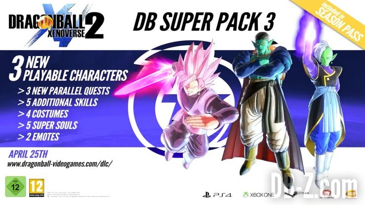 Dragon Ball Xenoverse 2 DLC 3 Promo