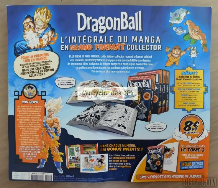 Manga Dragon Ball Grand Format Tome 2