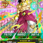 Broly PUI (normal) - Face