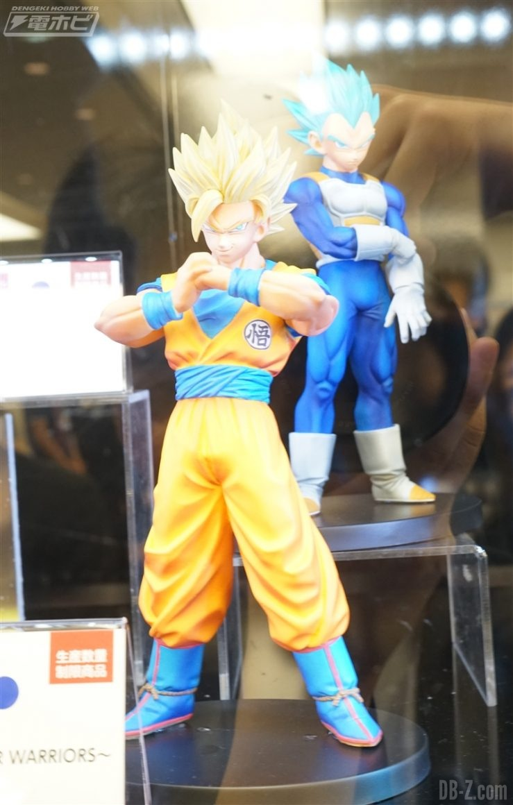 DXF The Super Warriors - Goku & Vegeta