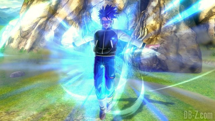 Dragon Ball Xenoverse 2 - L'Avatar utilise l'explosion divine