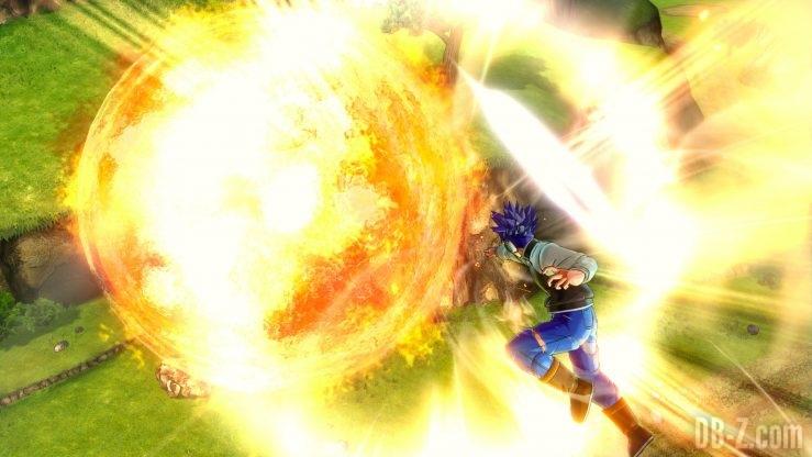 Dragon Ball Xenoverse 2 - L'Avatar utilise la Colère Divine