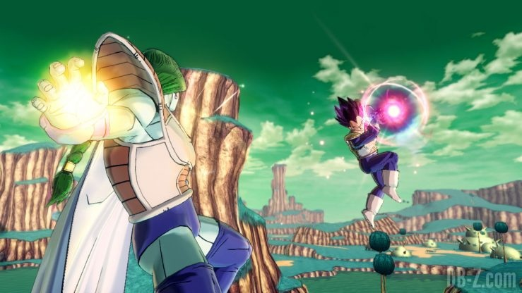 Dragon Ball Xenoverse 2 (Switch) - Zarbon vs Vegeta