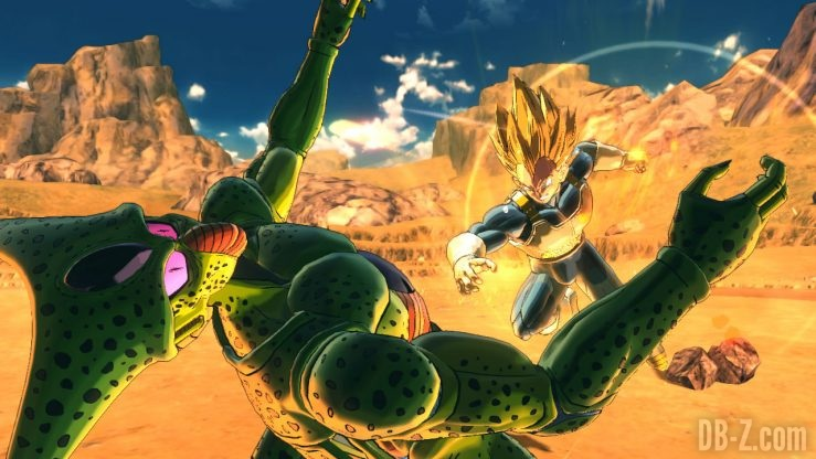 Dragon Ball Xenoverse 2 (Switch) - Cell vs Vegeta