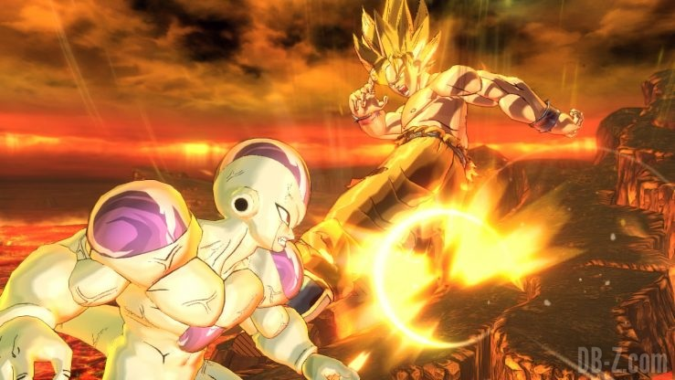 Dragon Ball Xenoverse 2 (Switch) - Goku Super Saiyan vs Freezer
