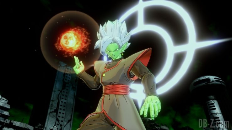 Dragon Ball Xenoverse 2 - La Fusion de Zamasu utilise la Divine Colère (purification)