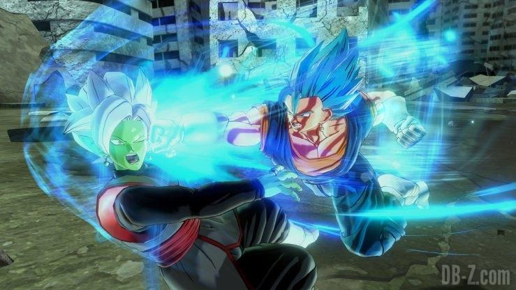 Dragon Ball Xenoverse 2 - Super Poing de Dieu de Vegetto Blue