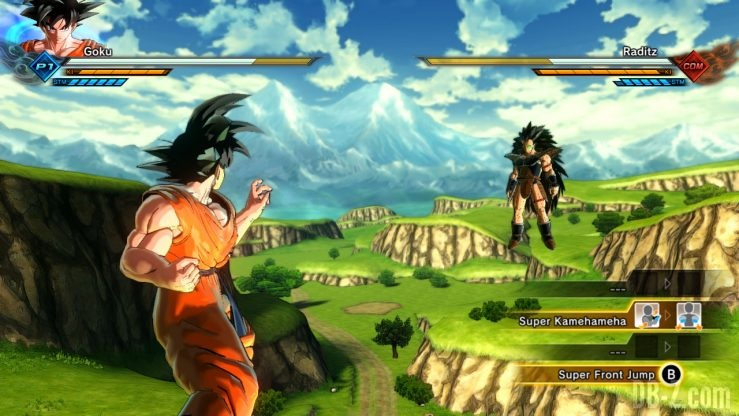 Dragon Ball Xenoverse 2 (Switch) - Mode Histoire (Goku vs Raditz)