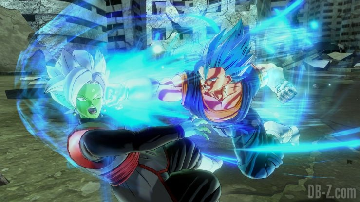 Dragon Ball Xenoverse 2 - Vegetto Blue (poing de dieu)
