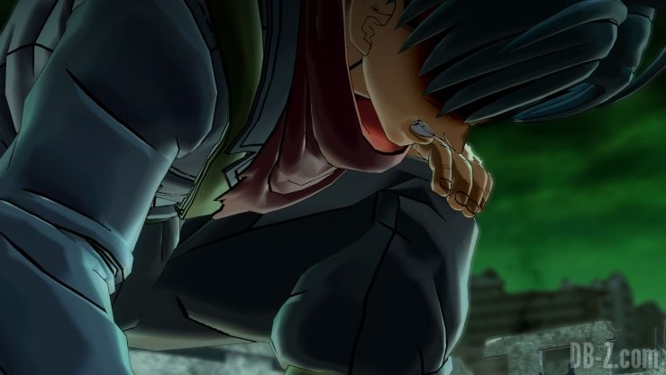 Dragon Ball Xenoverse 2 - Trunks en colère