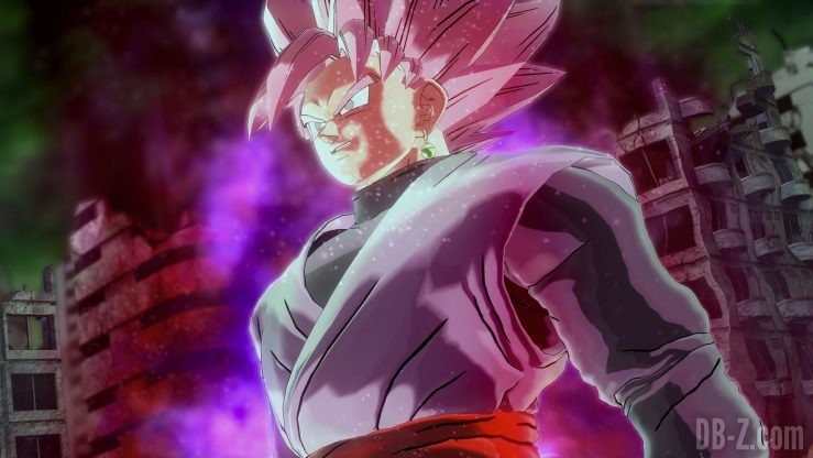 Dragon Ball Xenoverse 2 - Goku Black Rosé