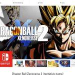 Dragon Ball Xenoverse 2 Switch Date de sortie