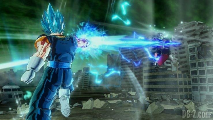 Dragon Ball Xenoverse 2 - Le Poignard Spirituel de Vegetto Blue