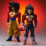 Gigantic Series Goku & Vegeta Super Saiyan 4