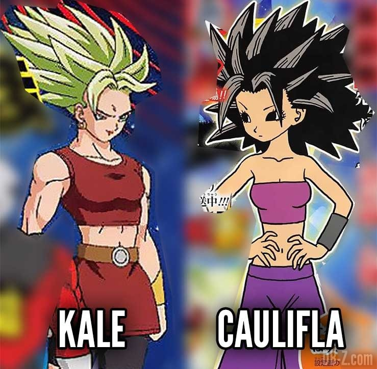 Kale vs Caulifla