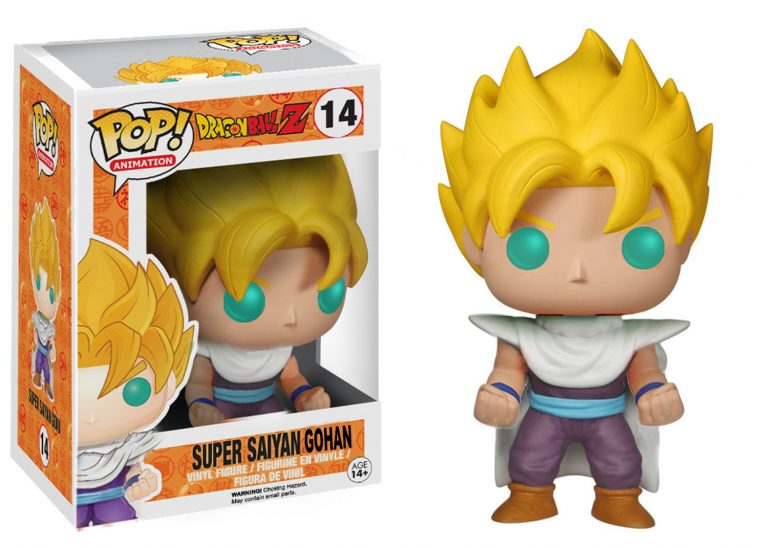 Pop Animation Dragon Ball Z Gohan Super Saiyan