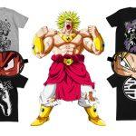 Tshirt de Goku & Broly
