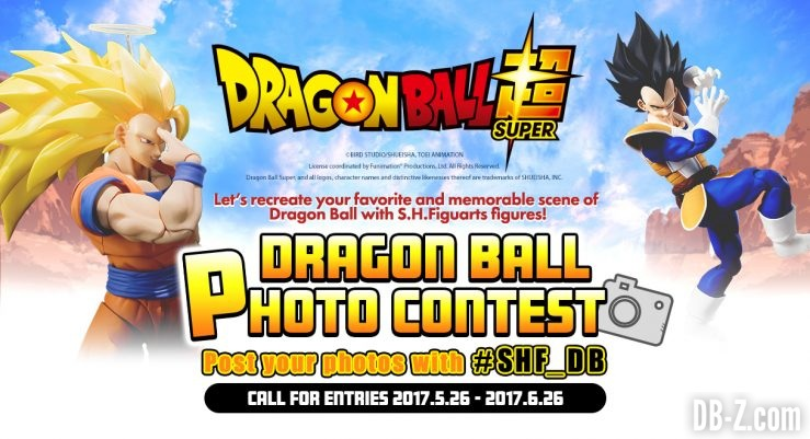Concours de Photos SHFiguarts Dragon Ball 2017