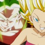 Artworks de Kale et Caulifla en Super Saiyan