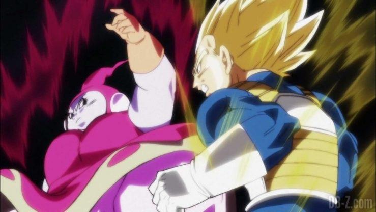 Dragon Ball Super Vegeta vs Brianne De Chateau