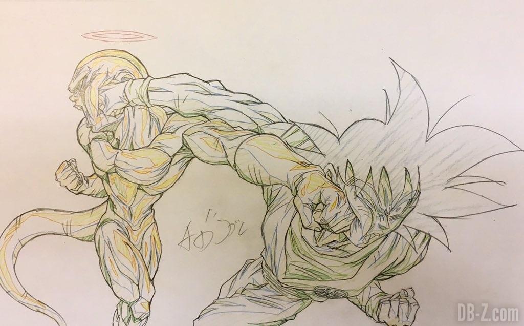 Goku et Freezer de Naotoshi Shida pour Dragon Ball Super (95)
