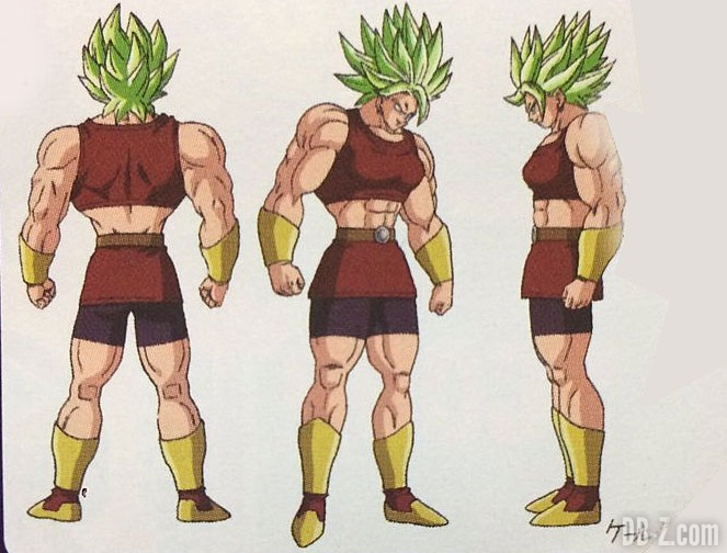 Artwork de Kale en Super Saiyan