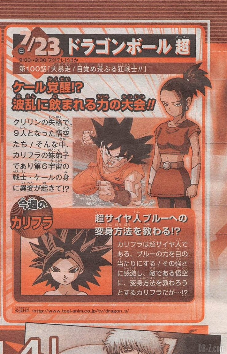 Dragon Ball Super Episode 100 - Preview