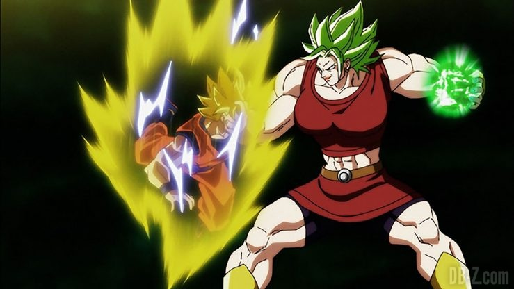 Goku vs Kale Super Saiyan Légendaire