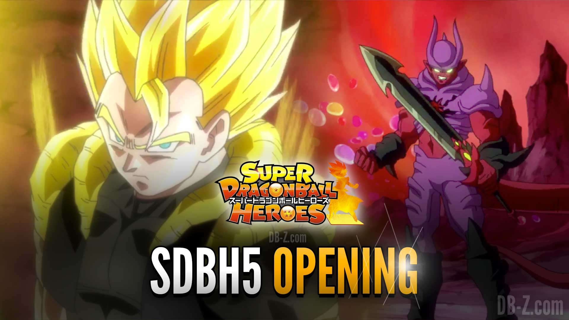 Dragon ball heroes opening 1 - 1 1