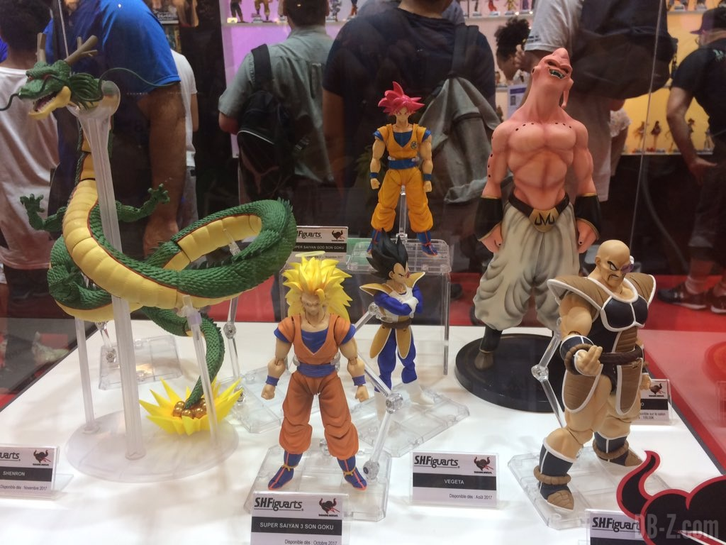 Japan Expo Les Stands : Le stand tamashii nations à la japan expo 2017