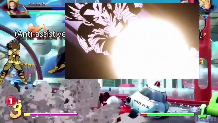 DBFighterZ Android 17 18 comparaison manga anime 33