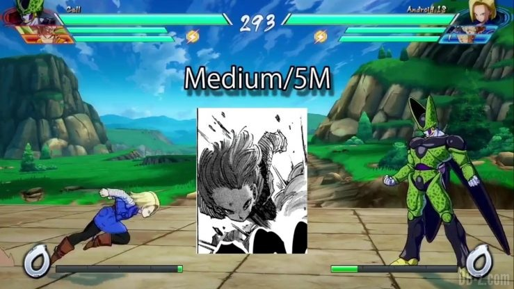 DBFighterZ Android 17 18 comparaison manga anime 5