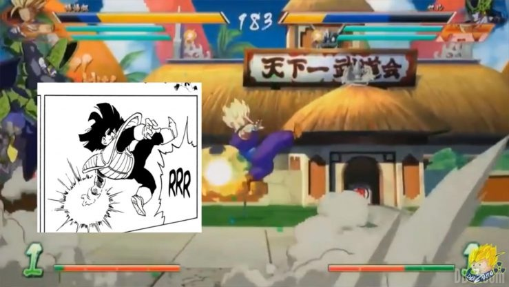 Dragon Ball Fighter Z Gohan references _0007_Calque 28