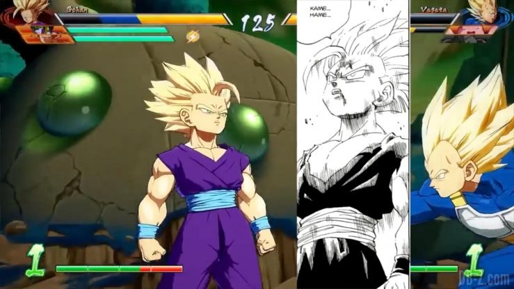 Dragon Ball Fighter Z Gohan references _0009_Calque 26