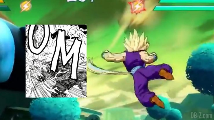 Dragon Ball Fighter Z Gohan references _0017_Calque 18