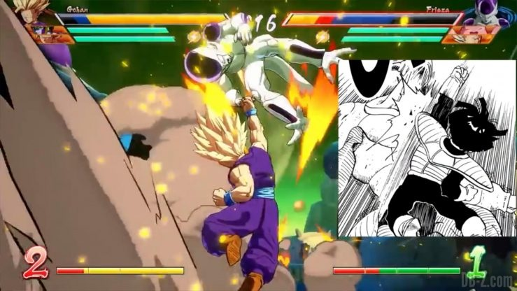 Dragon Ball Fighter Z Gohan references _0018_Calque 17